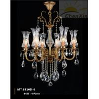 Wholesale E27 Crystal Pendant Lighting Glass Hanging Light Chandelier For Cafe Shop from china suppliers