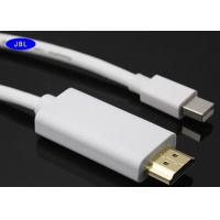 Wholesale Professional Gold Plating HDMI To Thunderbolt Cable , Mini Displayport HDMI Cable from china suppliers