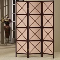 Wholesale Antique Hand-woven Home Decor Foldable Cloth Wooden Screen Lows Room Dividers from china suppliers