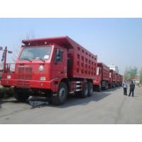Wholesale 100 Tons Sinotruk HOWO 420hp Mining Dump Truck with high strength steel cargo body from china suppliers