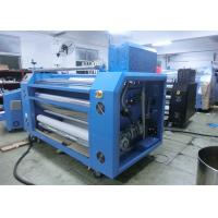 Quality Eco - Profit 100% Full Oil Roller Heat Transfer Machine For Fabrics for sale