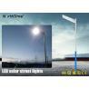 Buy cheap Energy Saving LED Solar Panel Street Lights 4700 - 4800LM 7000K from wholesalers