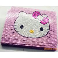 Wholesale Hello Kitty Rhinestone Detailing Self Adhesive acrylic Sticker for laptop/computer from china suppliers