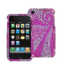 Wholesale Purple Diamond Case Cover For Apple Iphone 4G/4GS from china suppliers