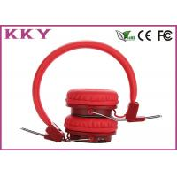 Wholesale Red Color Wireless Bluetooth Earphone User-friendly Headphone Wearing Style Headphone from china suppliers