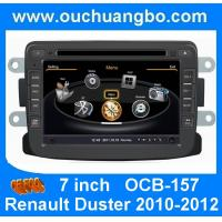 Wholesale Ouchuangbo DVD multimedia autoradio Navigator S100 Renault Duster 2010-2012 with MP3 BT from china suppliers