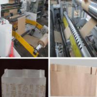 Wholesale 18Kw Bread Paper Bag Making Machine Producing Sharp Bottom Food Bags from china suppliers