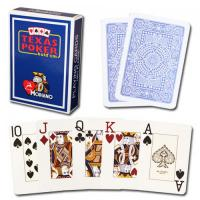 Wholesale XF Modiano Texas Poker 2 Jumbo Index|dark blue Single Card Deck|100% Plastic Made in Italy|gamble cheat|poker cheat from china suppliers