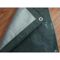 Wholesale Outdoor canvas curtain fabric,PE tarpaulin sheet, poultry barton roof door poly tarps from china suppliers