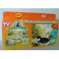 Wholesale New Window Mount Cat Bed Pet Hammock As Seen On TV Sunny Seat Pet Beds With Color Box Package from china suppliers