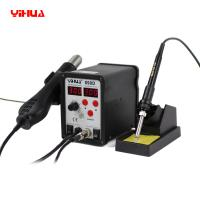 Wholesale High Precision 2 in 1 Digital Soldering Station Hot Air Rework Station from china suppliers