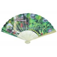 Wholesale Bamboo Paper Fans For Promotion , Gifts from china suppliers
