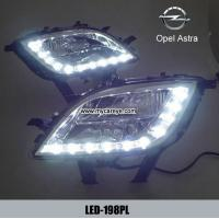 Wholesale Opel Astra DRL LED Daytime Running Lights Car front daylight upgrade from china suppliers