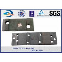 Wholesale Plain Color Cast or Forged Railroad Tie Plates For Rail UIC60 from china suppliers
