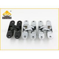 Wholesale Zinc Adjust Concealed Interior Wood Wardrobe Door Hinges 180 Degree from china suppliers