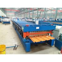 Wholesale 1/2 PPGI Panel Roofing Sheet Forming Machine With Auto stacker from china suppliers