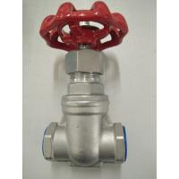 Wholesale 200PSI CF8M 1/2 Inch Hand Wheel Gate Valve Threaded Butt Welding from china suppliers