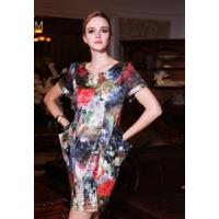 Wholesale China Silk Dress/ Printing Real Silk Dress from china suppliers
