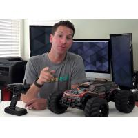 Wholesale Walk Upright RC Brushless Cars Off Road Electric 4WDRC Truggy 100 km / hour from china suppliers