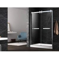 Wholesale Hinge tempered glass shower doors,unique hinge shower door,tempered shower enclosure from china suppliers