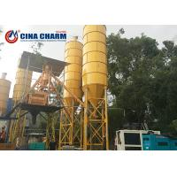 China 100 Ton Cement Silo With Vibrators For Grain / Fly Ash / Bulk Material Storage on sale