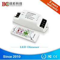 Wholesale Mini RF Remote control 12V 24V 36V 48V single color PWM 350mA 700mA LED Dimmer from china suppliers