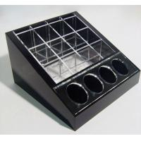 Wholesale Black Cosmetic Display Desktop Cosmetic Display Holders 15cm X 15cm from china suppliers