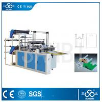 Wholesale Double Lines Plastic Bag Making Machine 100pc/min For Convenient Bag from china suppliers