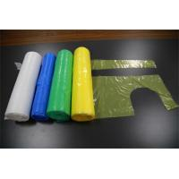 Wholesale White Disposable Plastic Aprons , Disposable Poly Aprons Eco - Friendly from china suppliers