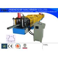 Wholesale 1.5-2.5mm Thickness Storage Rack Roll Forming Machine With Hydraulic Punching Press from china suppliers
