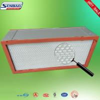 Wholesale Air Conditioning System Hepa Filter Air Purifier With Aluminum Frame from china suppliers