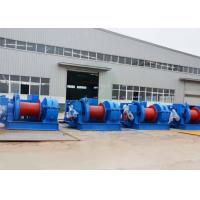 Wholesale Fast speed heavy duty electric winch for pulling lifting and towing material from china suppliers