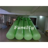 Wholesale 7M Length 0.5m diameter Green Color  Airtight  Floating Water Buoys for Aqua park  Enclosure from china suppliers