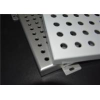 Wholesale Wall / Ceiling Perforated Aluminum Panels Hot Dipped Galvanized For Outside from china suppliers