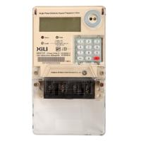 Wholesale Single Phase Two Wire Prepayment Power Energy Meter / KWH Meters with Integrated Keypad from china suppliers