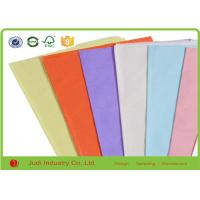 Wholesale Standard MG Bulk Colored Tissue Paper Solid Color For Children English Book from china suppliers