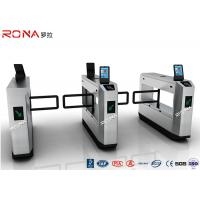 Wholesale Stainless Steel Swing Facial Recognition Turnstile 900mm Arm Length CE Approved from china suppliers