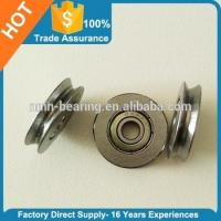 Buy cheap Low resistance micro miniature v groove wheel bearing from wholesalers