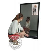 Quality 13.3 Inch Magic Mirror Advertising Player , Bathroom Body Motion Sensor Mirror Media Player Android for sale