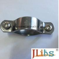 Wholesale Industrial Gas Pipe Clamps / Stainless Steel Pipe Clamps And Brackets , Easy To Fix from china suppliers