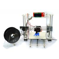Wholesale Acrylic Adjustable Prusa i3 3D Printer , STL / G-Code 3D Color Printer from china suppliers