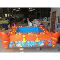 Wholesale Vivid Music Indoor Fishing Game Machine for Children , Catnival Game Fishing Pool from china suppliers