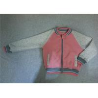 Wholesale Pink Girls Baseball Jackets Outerwear Autumn Spring Jackets For Girls With Zip from china suppliers