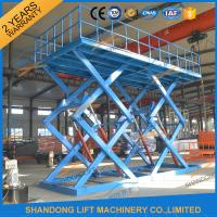 Wholesale Heavy Duty Hydraulic Double Scissors Lift Platform for Warehouse from china suppliers