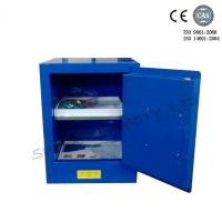 Wholesale Blue Metal Corrosive Storage Cabinet / Hazardous Storage Cupboards 30 Gallon from china suppliers