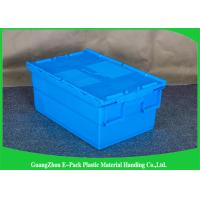 Quality Customized Plastic Attached Lid Containers Storage Packaging Long Service Life for sale