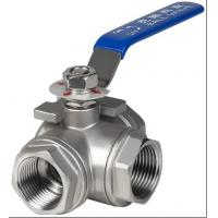 Wholesale 3 port ball valve from china suppliers