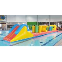 Wholesale Indoor Swimming Pool Games, Inflatable Obstacle Course For Sale from china suppliers