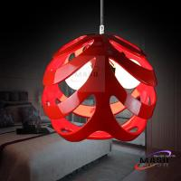 Wholesale Residential Lighting Ball Resin Pendant Light Warm White color temperature from china suppliers