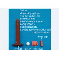 Wholesale Us Style Dispensing Syringe Barrel / Anti Uv 3ml Syringe For Dispensing Machine from china suppliers